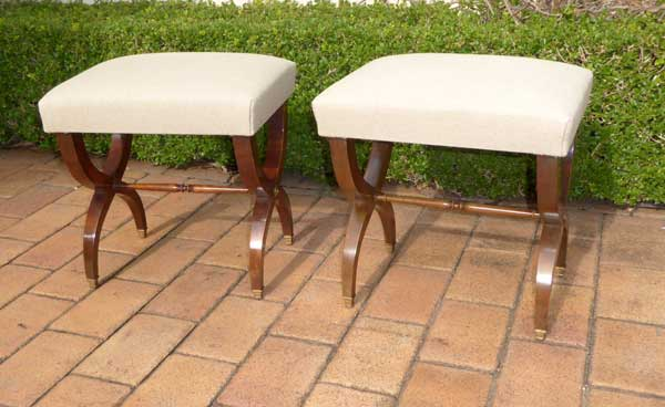 X Frame stools Image