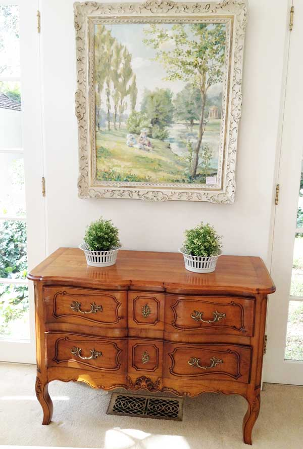 French Cherrywood Commode Image