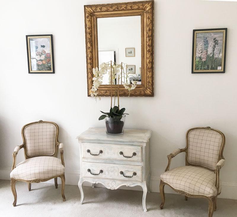 Painted Oak Commode Image