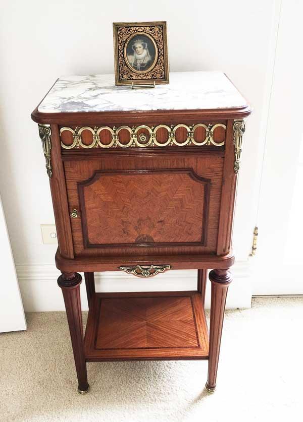 Mahogany Bedside Cabinet Image