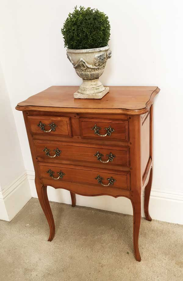 Small Cherrywood Chest of Drawers Image