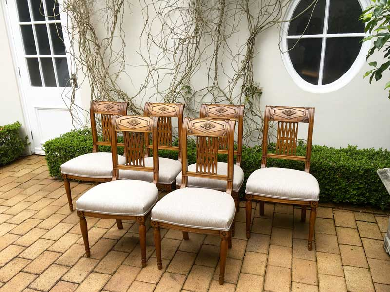 Cherrywood Dining Chairs Image