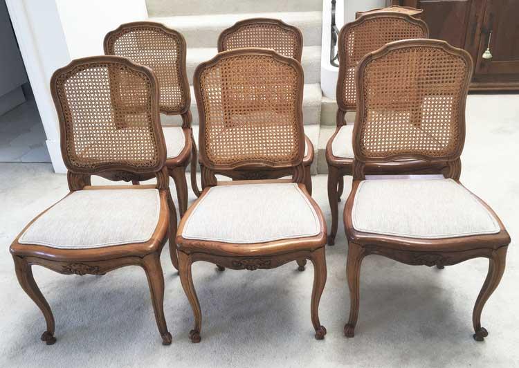 Walnut Dining Chairs Image