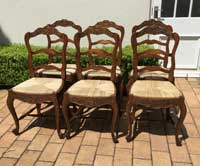 French Provincial Dining Chairs Image