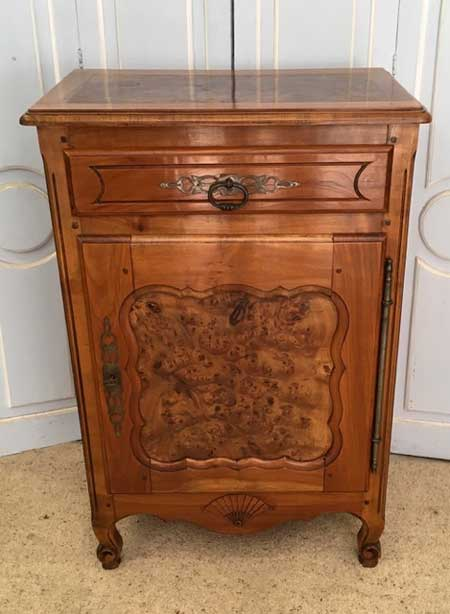 Cherry wood and elm marmalade cupboard Image